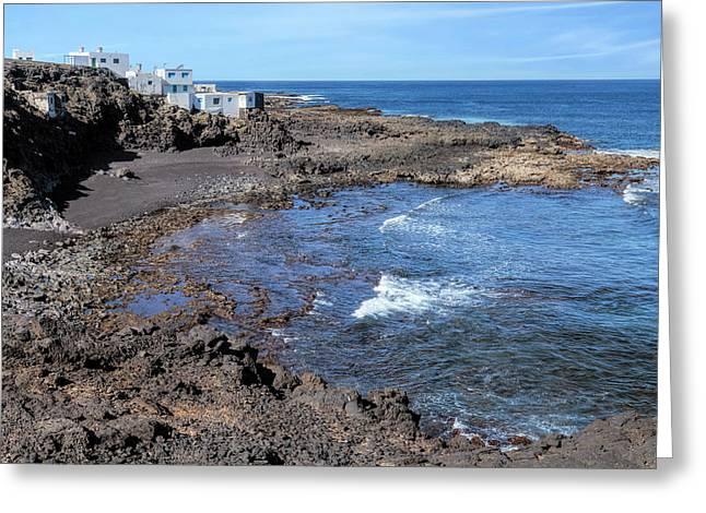 Tenesar - Lanzarote Greeting Card by Joana Kruse