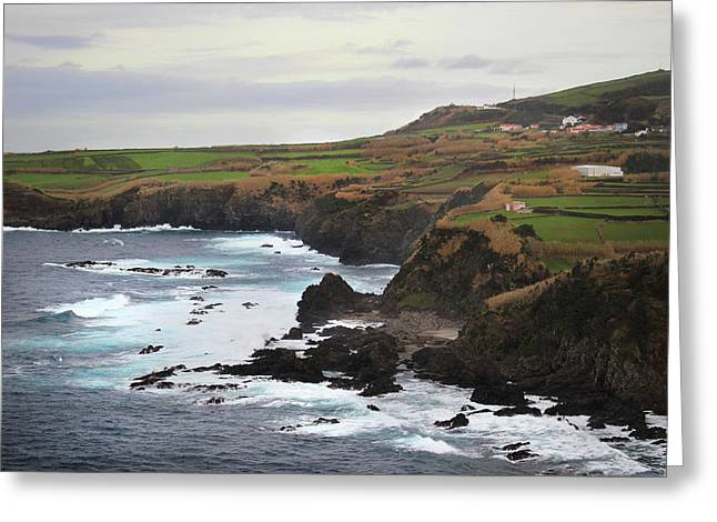 Terceira Coastline Greeting Card