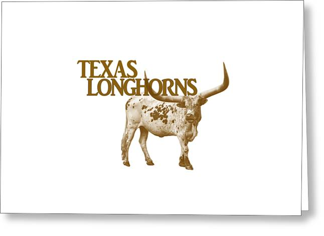 Texas Longhorns Greeting Card