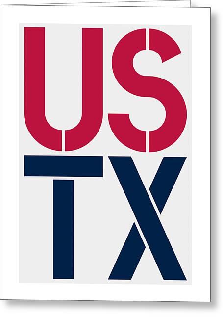 Texas Greeting Card by Three Dots