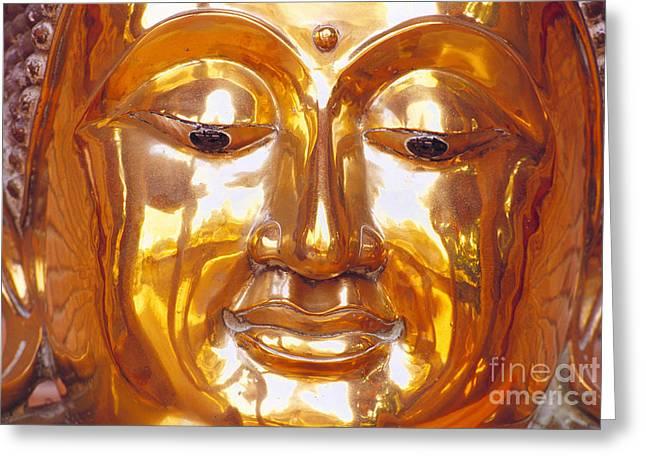 Thailand, Ayathaya Greeting Card by Bill Brennan - Printscapes