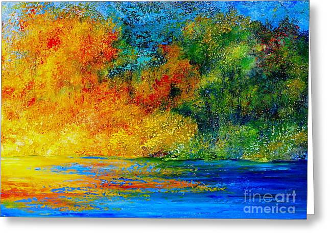 Memories Of Summer Greeting Card by Teresa Wegrzyn