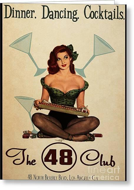 The 48 Club Greeting Card