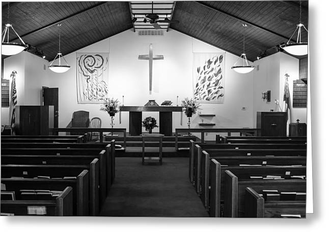 Greeting Card featuring the photograph The Altar by Monte Stevens