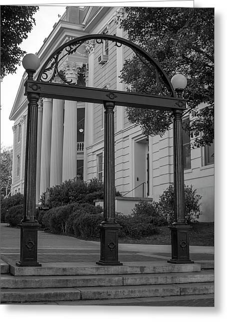 The Arch 2 University Of Georgia Arch Art Greeting Card by Reid Callaway