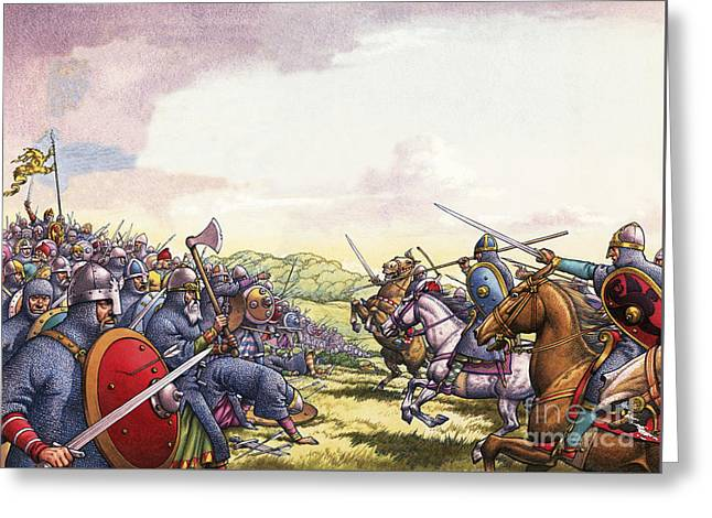 The Battle Of Hastings Greeting Card