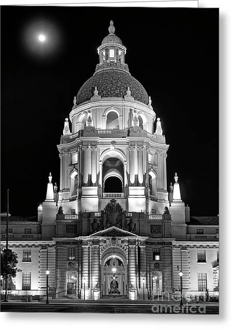 The Beautiful Pasadena City Hall. Greeting Card