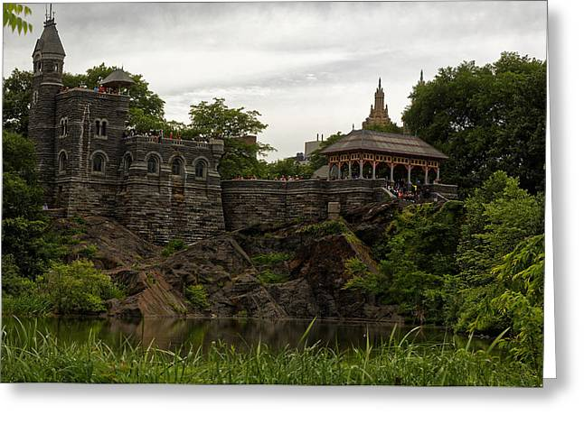 The Belvedere Castle Greeting Card by M Nuri Shakoor