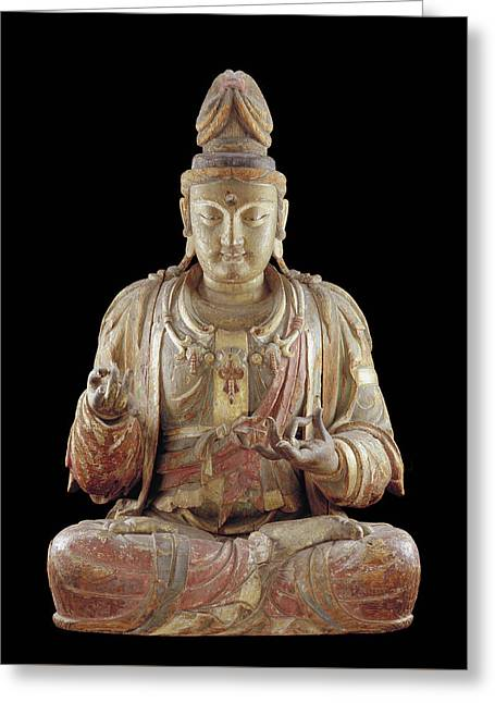 The Bodhisattva Guanyin Greeting Card