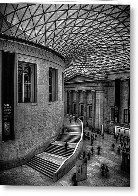 The British Museum Greeting Card by Martin Newman