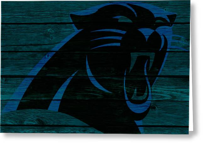 The Carolina Panthers 2a Greeting Card by Brian Reaves