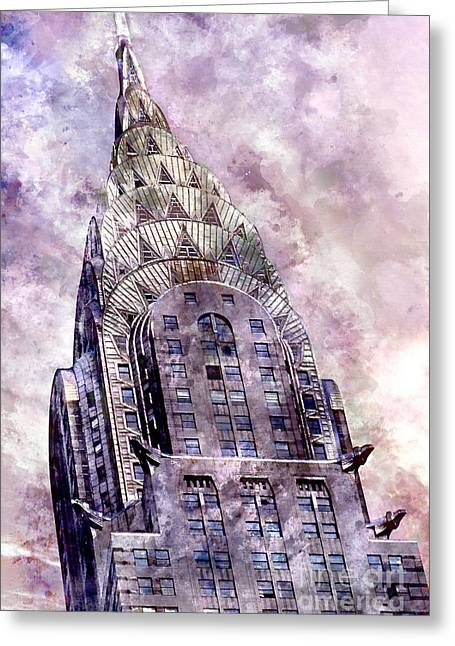 The Chrysler Building Greeting Card by Jon Neidert