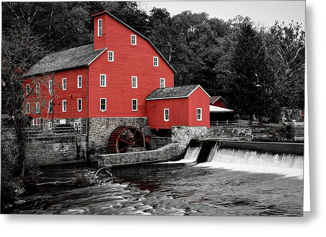 The Clinton Mill Greeting Card