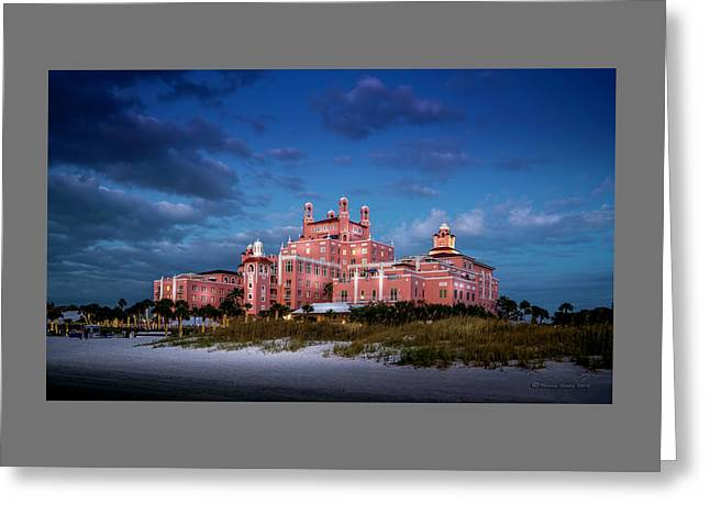 The Don Cesar Resort Greeting Card