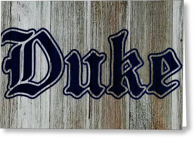 The Duke Blue Devils 1d Greeting Card
