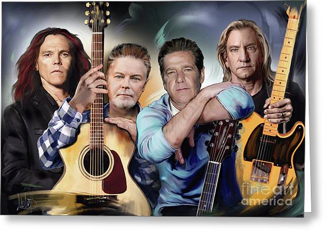 The Eagles Greeting Card