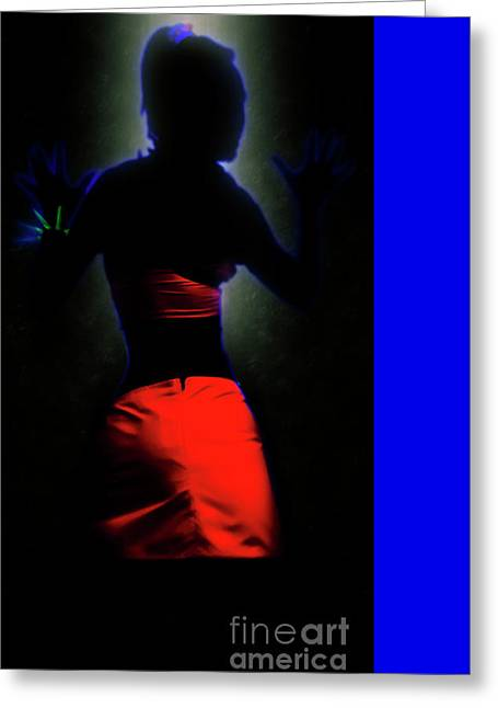 The Effects Of Uv On Reflective Clothing Greeting Card