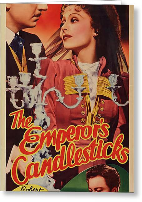 The Emperor's Candlesticks 1937 Greeting Card by M G M