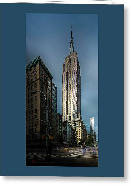 The Empire State Greeting Card