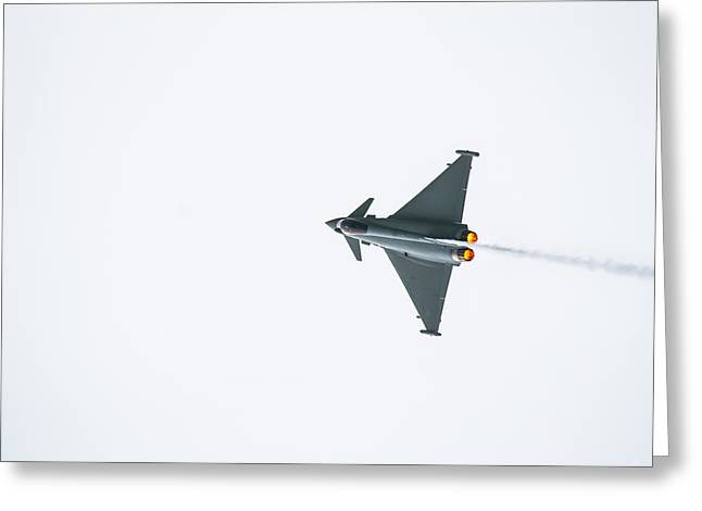 The Eurofighter Typhoon Greeting Card
