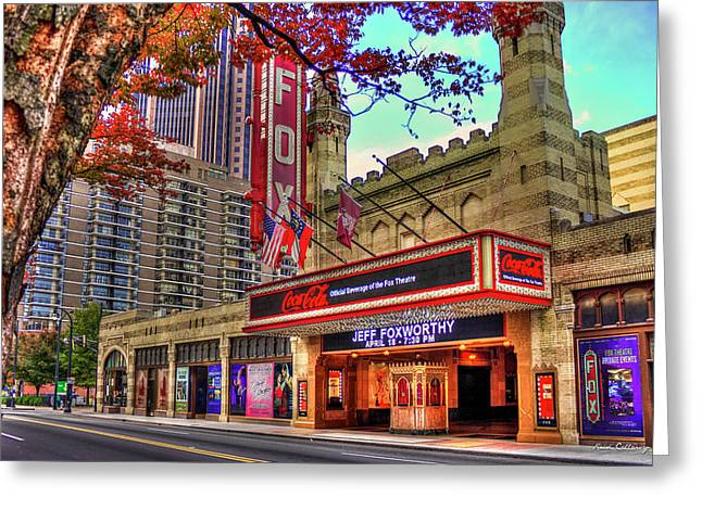 The Fabulous Fox Theatre Atlanta Georgia Art Greeting Card by Reid Callaway