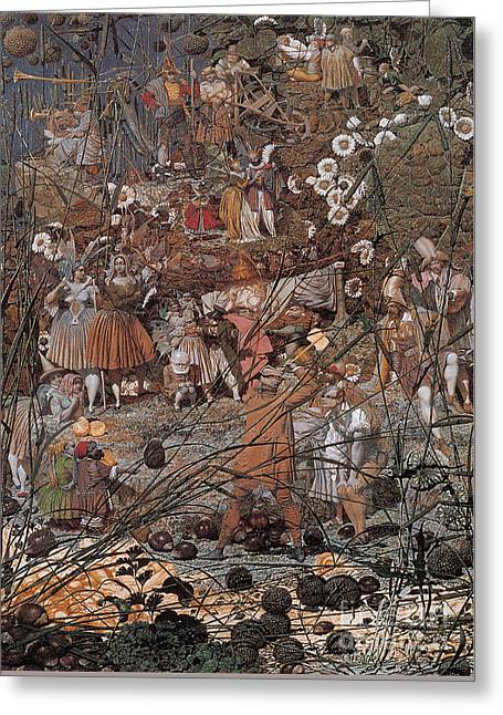 The Fairy Feller Master Stroke Greeting Card by MotionAge Designs