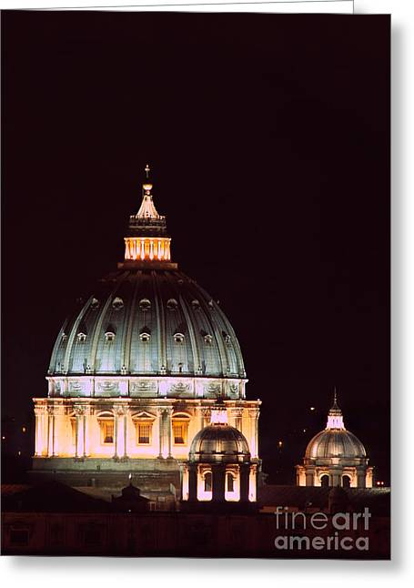 The Father Of All Domes II Greeting Card by Fabrizio Ruggeri