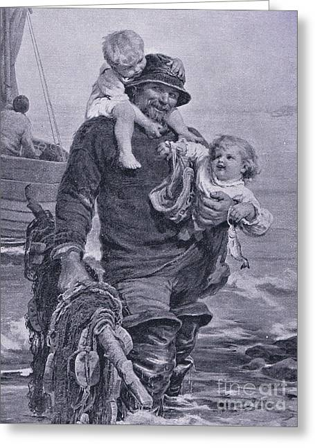 The Ferry Greeting Card