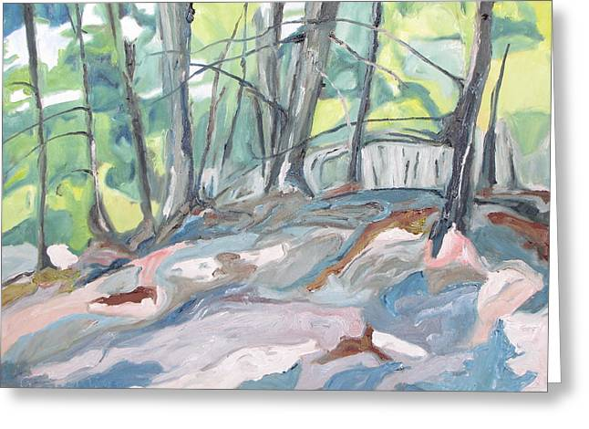 The Forest Floor Greeting Card by Francois Fournier