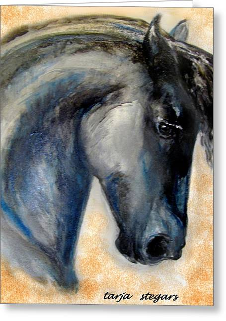 The Friesian Greeting Card