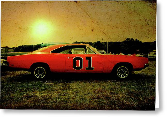 Greeting Card featuring the photograph The General Lee by Joel Witmeyer