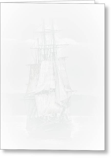 The Ghost Ship Greeting Card