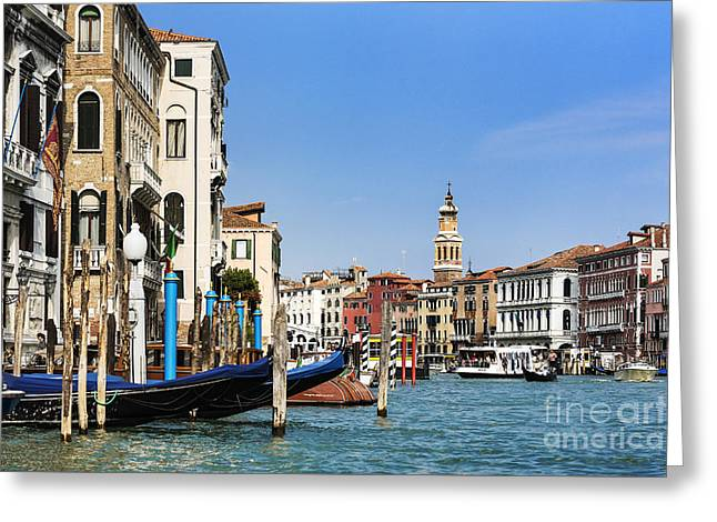 The Grand Canal Greeting Card