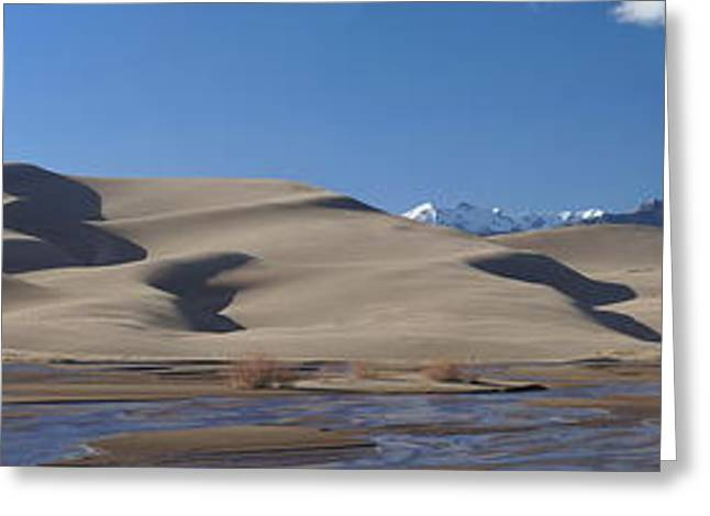The Great Sand Dunes Greeting Card