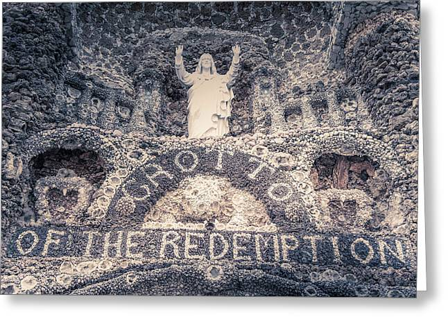 The Grotto Of The Redemption Greeting Card by Art Spectrum