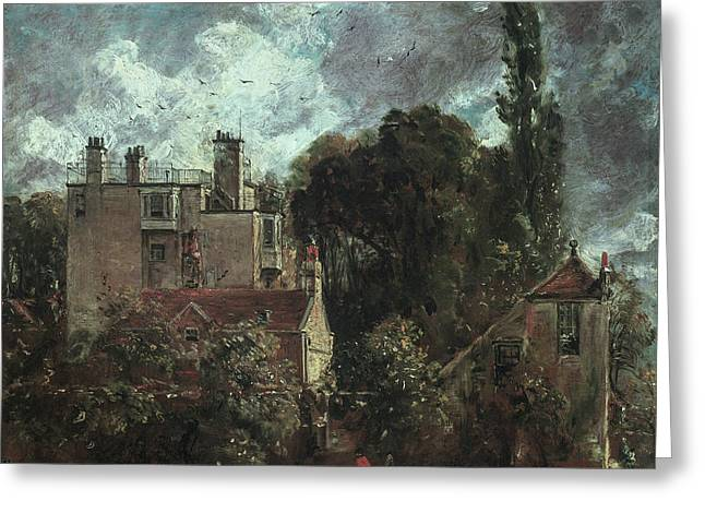 The Grove, Or The Admiral's House In Hampstead Greeting Card
