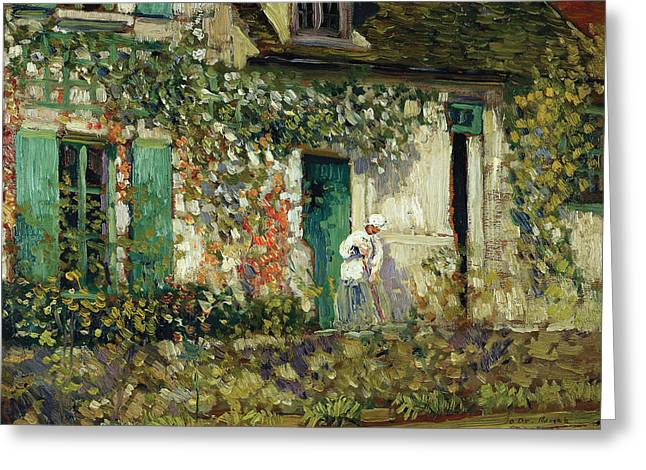 The House In Giverny Greeting Card