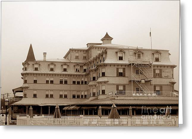 The Inn Of Cape May Greeting Card by Skip Willits