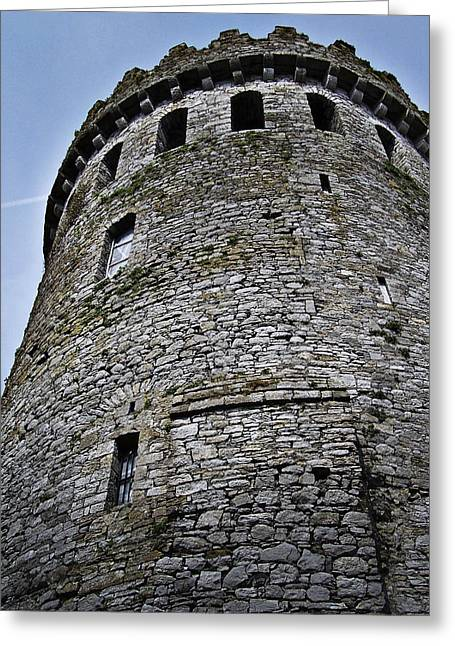 The Keep At Nenagh Castle Ireland Greeting Card by Teresa Mucha