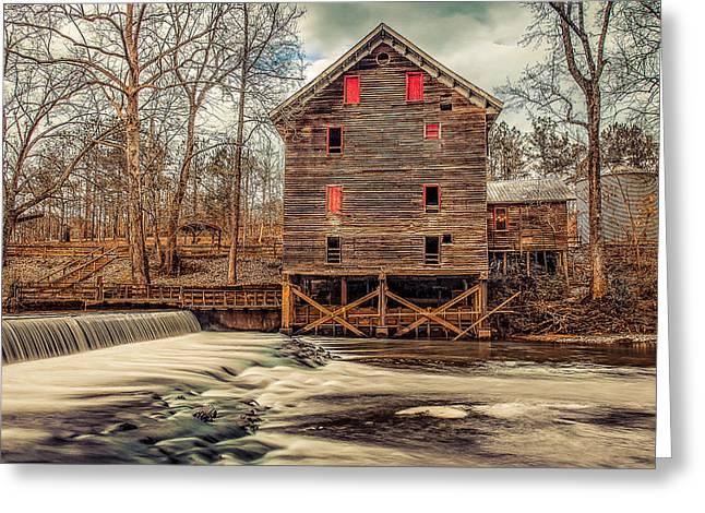 The Kymulga Mill Greeting Card by Phillip Burrow