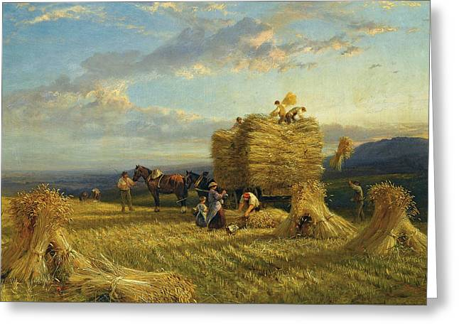 The Last Load Greeting Card by George Cole
