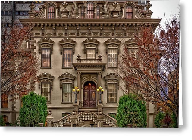 The Leland Stanford Mansion - Sacramento Greeting Card