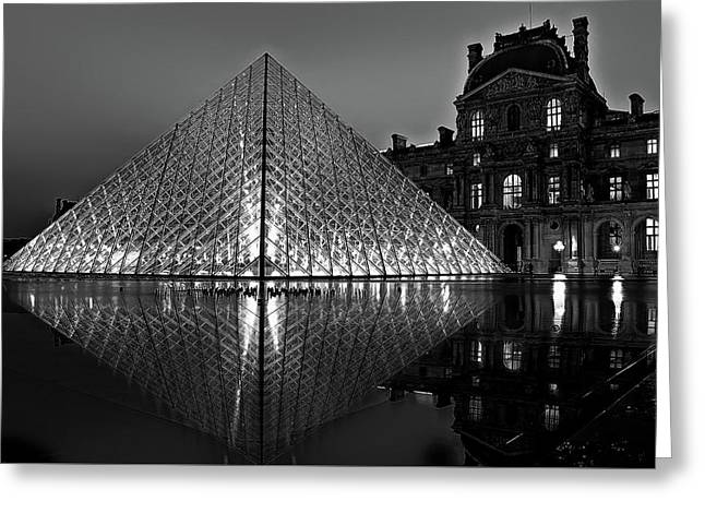 The Louvre Greeting Card