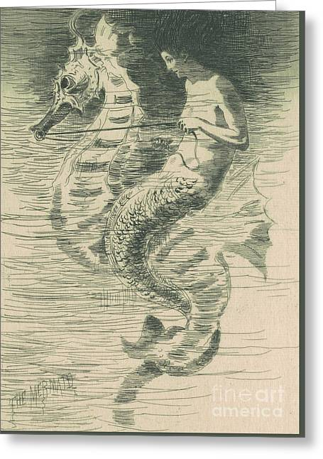 The Mermaid Greeting Card