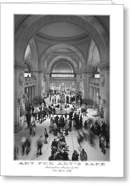 The Metropolitan Museum Of Art Greeting Card by Mike McGlothlen