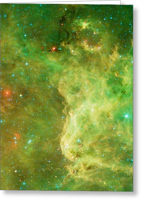The North America Nebula Greeting Card by American School