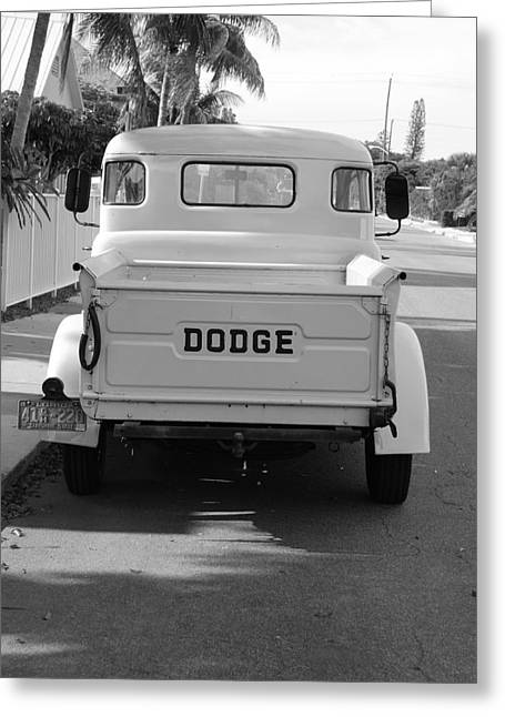 The Old Dodge  Greeting Card by Rob Hans