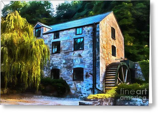 The Old Mill  Greeting Card by Chris Evans