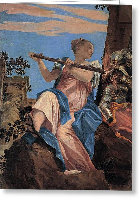 The Peace Greeting Card by Paolo Veronese