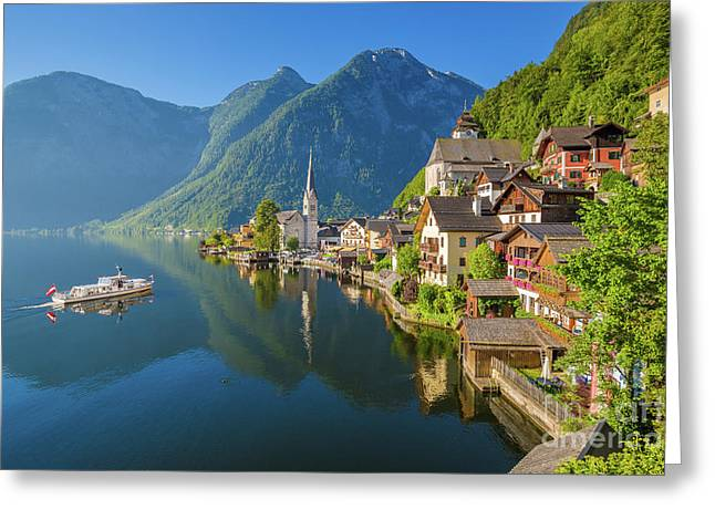 The Pearl Of Austria Greeting Card